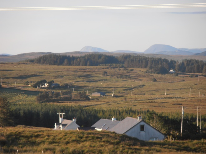 view, Donegal, hills