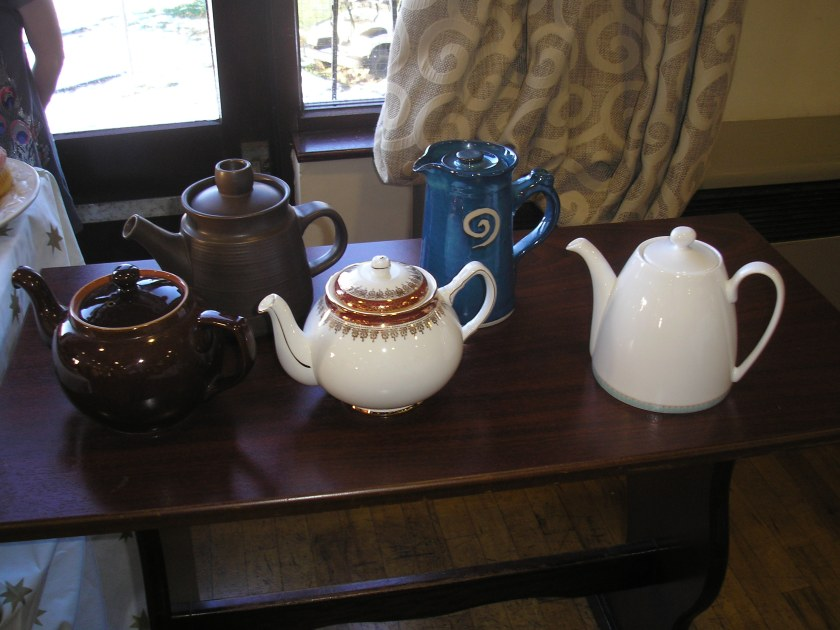 all the tea pots