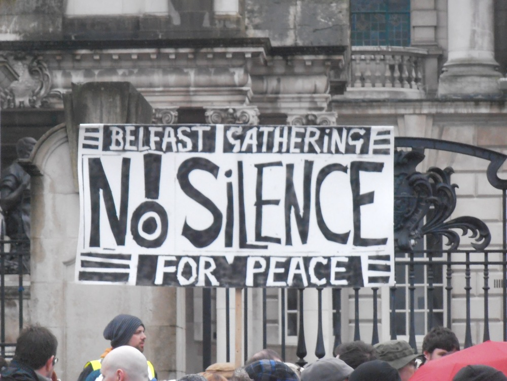 not silent protest