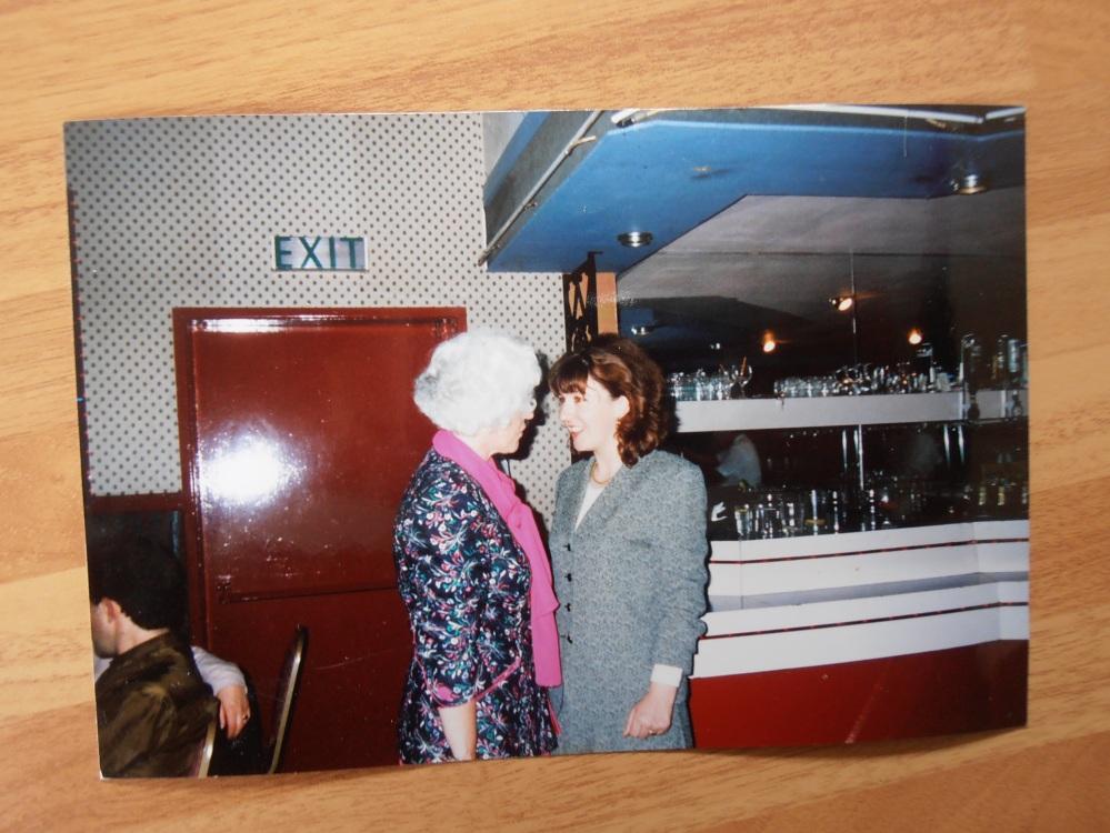 Herself &myself, August 1994