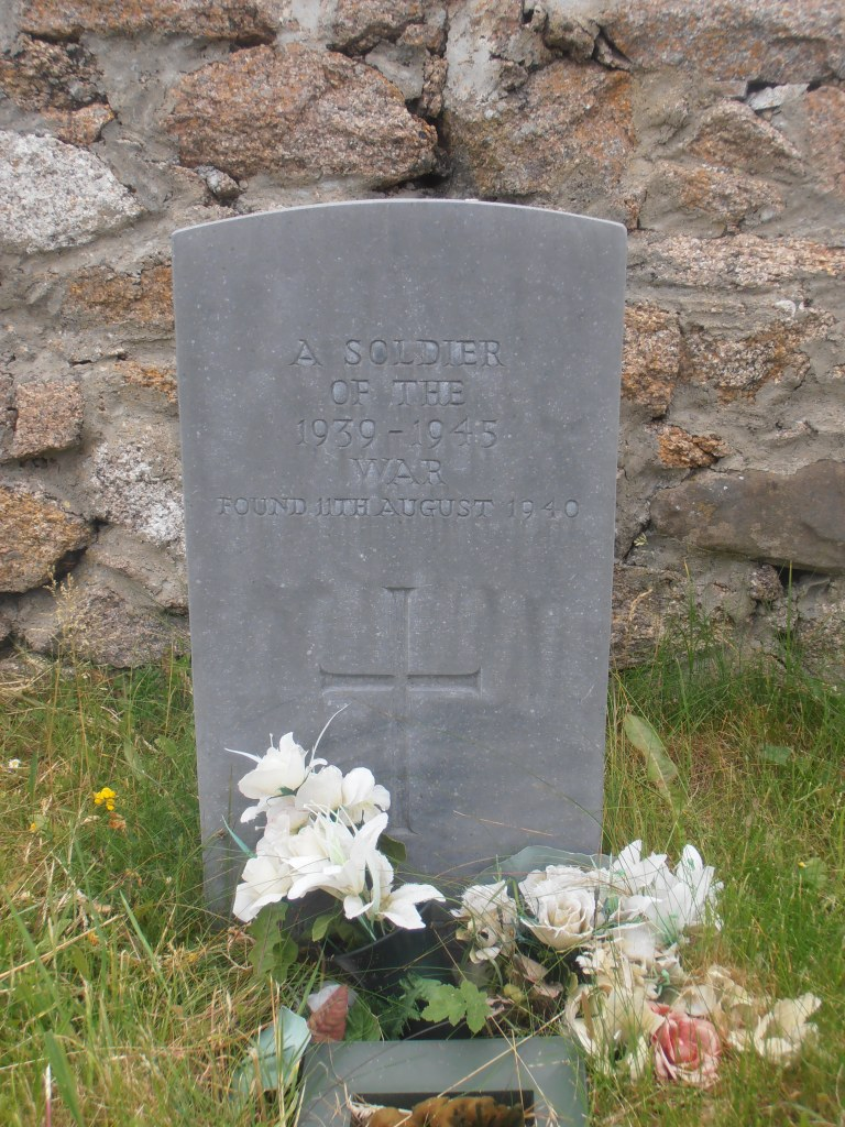 unknown soldier, Magheragallon, Donegal