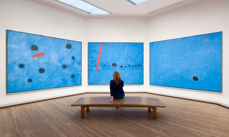 from: http://www.theguardian.com/artanddesign/2011/apr/11/joan-miro-retrospective-reunites-triptychs