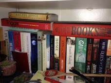 left of shelf