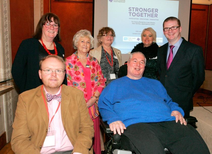 NIRDP members with Simon Hamilton