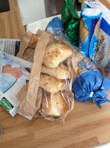 cheese and onion rolls, Lidl shop