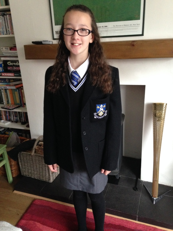 Girl2, school uniform