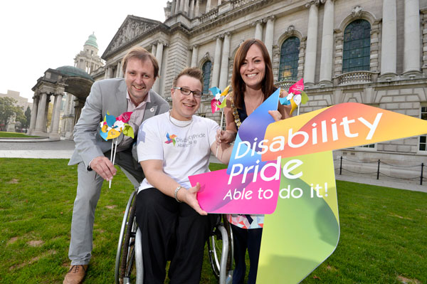 Disability pride promotion