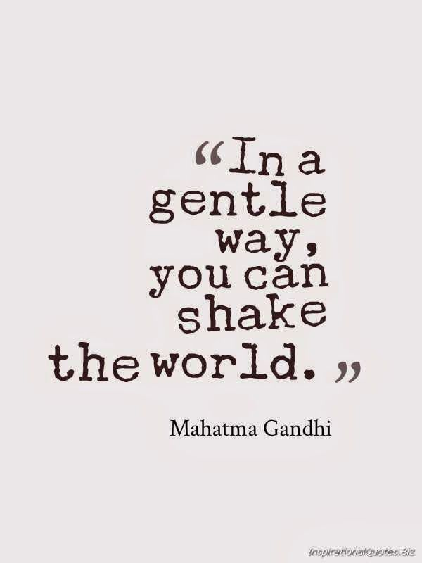 Gandhi quotation