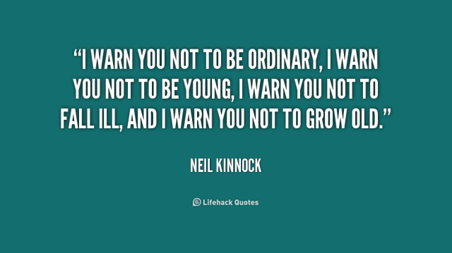 Neil Kinnock, Leader of the Labour Party, 1983