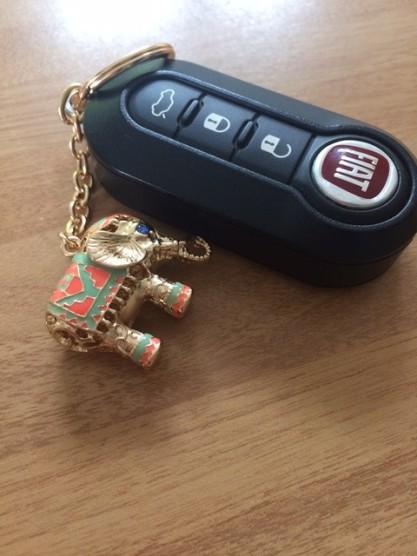 car & elephant